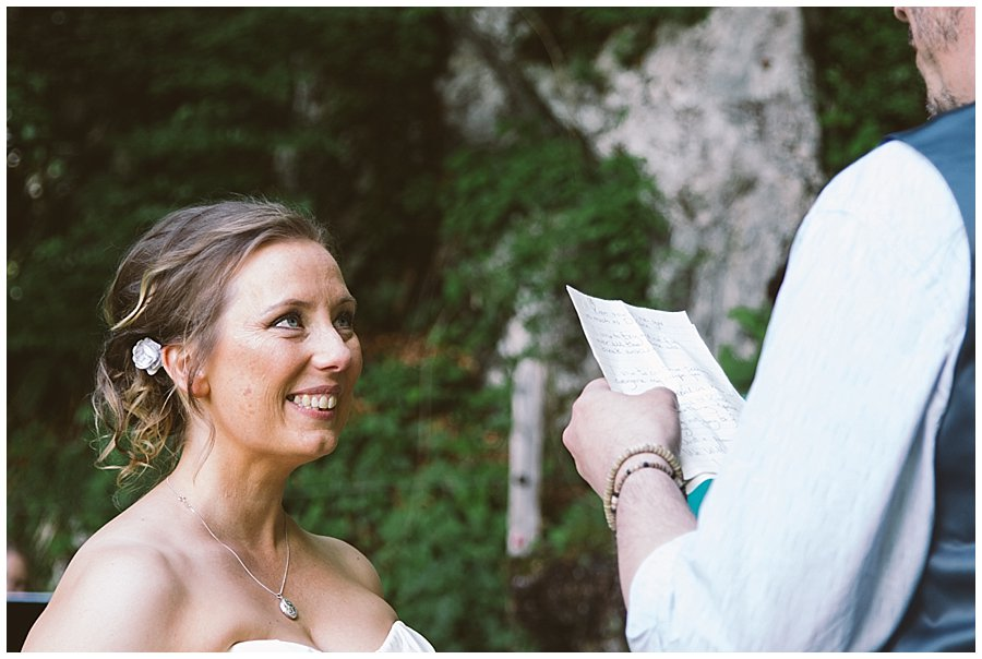 St Johann in Tirol Elopement Nikki laughs at Chris's vows by Wild Connections Photography