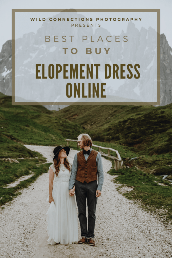 Best places to buy an elopement dress online