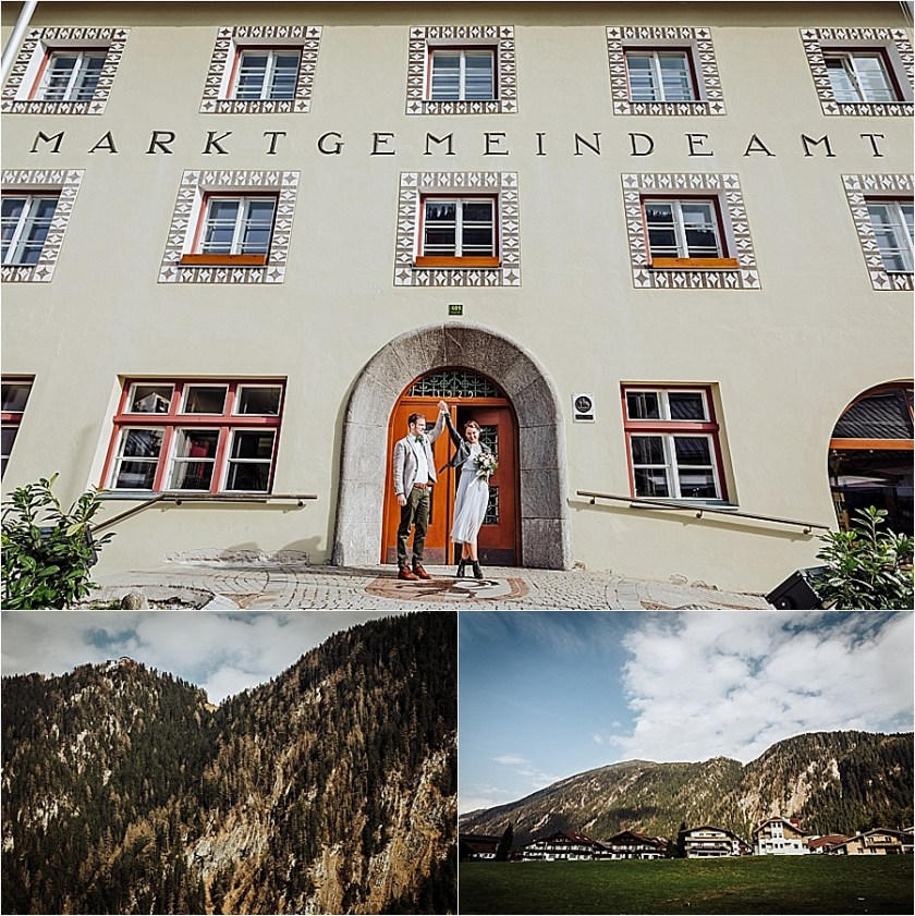 Just married - winter mountain elopement in Mayrhofen Austria by Wild Connections Photography