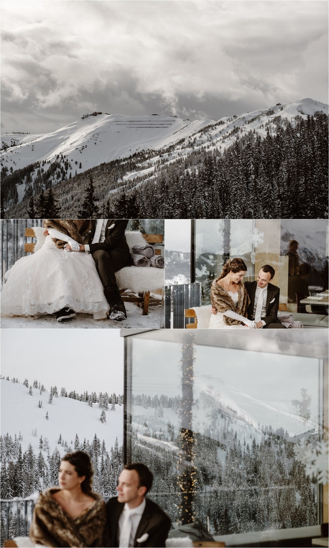 A wedding ceremony at the Schmiedhof Alm in Zell Am See by Wild Connections Photography