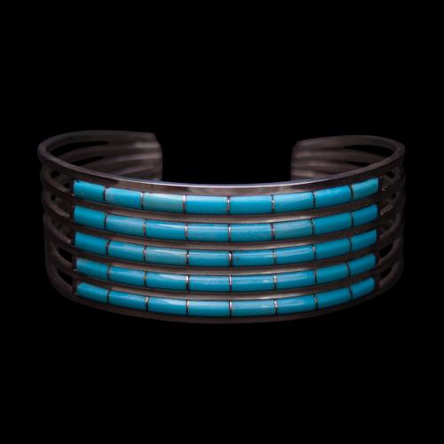 Five Row Turquoise Bracelet