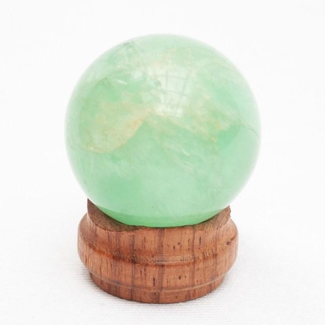 Small Green Fluorite Ball