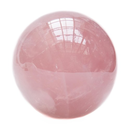 Small Rose Quartz Crystal Ball