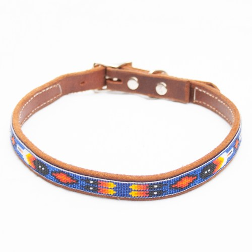 Large Blue Dog Collar