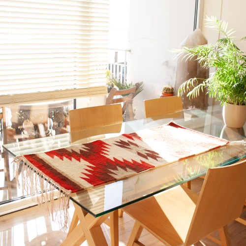 1960's Vintage Table Runner