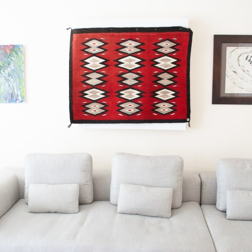 Navajo Red Wall Hanging