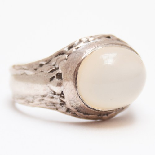 Cats Eye Moonstone Ring