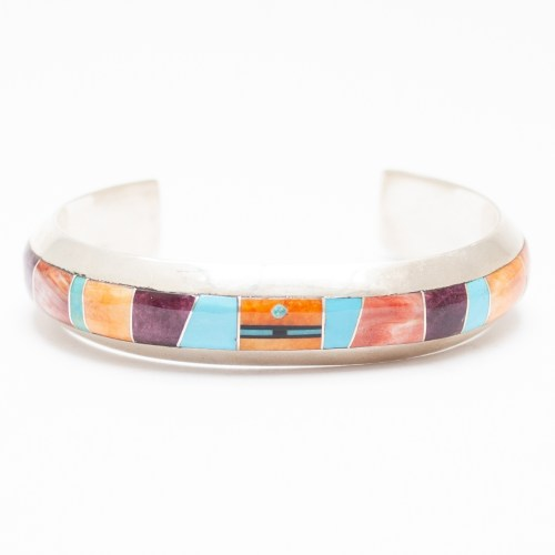 Multicoloured Inlay Bracelet