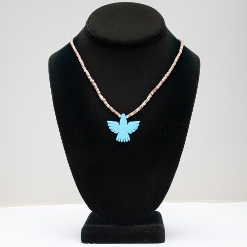 Turquoise Eagle Necklace