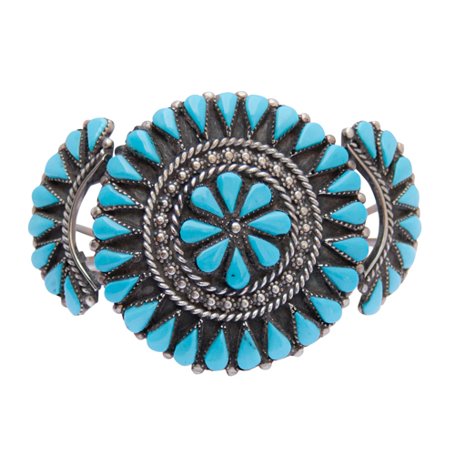 Anthony Skeet Turquoise Bracelet