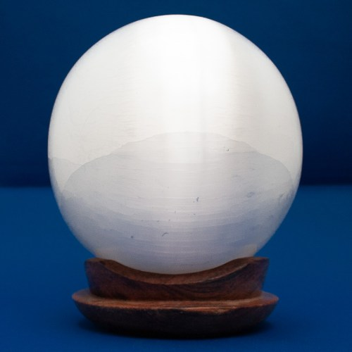 Large Selenite Crystal Ball
