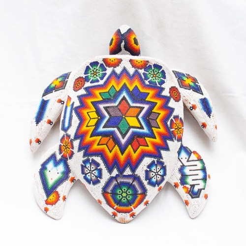 Large Huichol Turtle