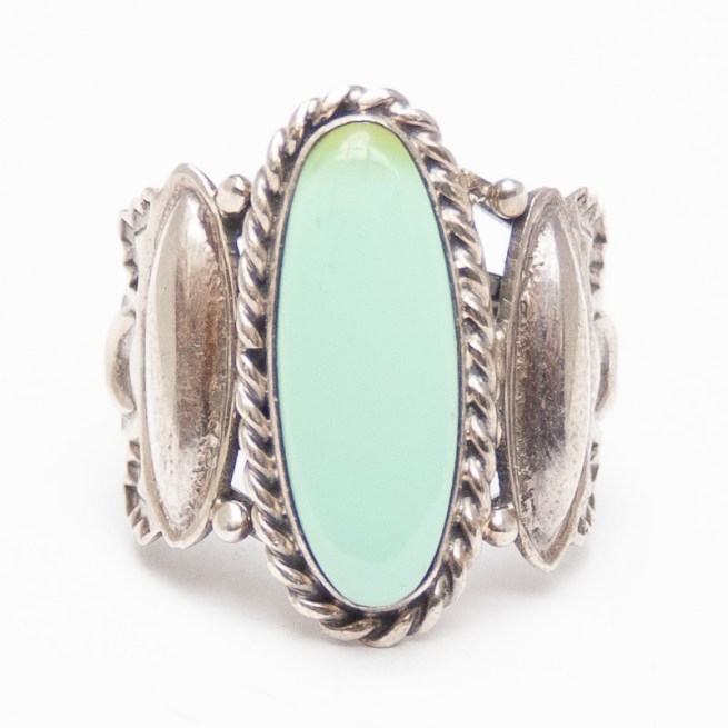 Native American Tryptic Turquoise Ring