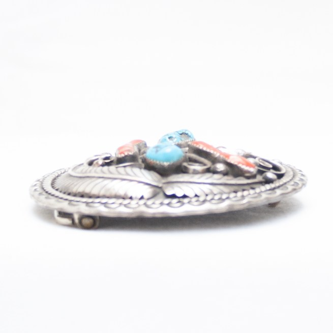 Turquoise Coral Buckle