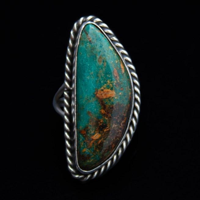 Larose Ganadonegro Turquoise Ring