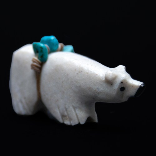 Tim Lementino Zuni Bear Carving