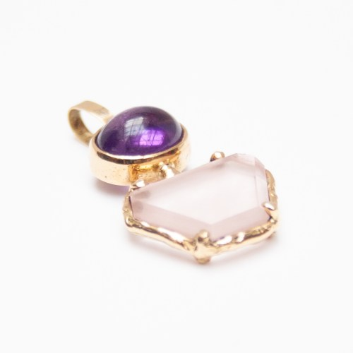 Gold Amethyst Rose Quartz