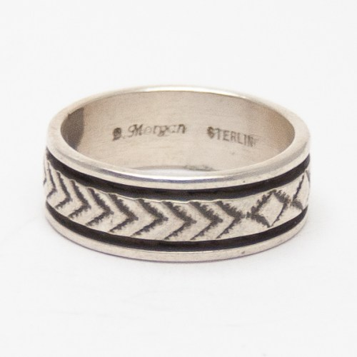 Morgan Arrow Design Ring