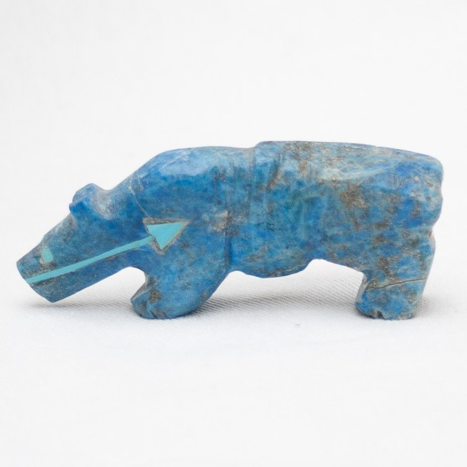 Quandelacy Lapis Jaguar Carving