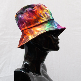 Rainbow Tie-Dye Hat Medium