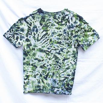 Green Tie-Dye Hemp L