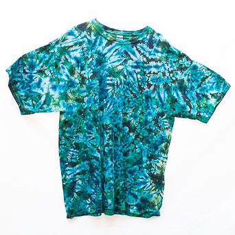Blue Green T-Shirt Size 2XL