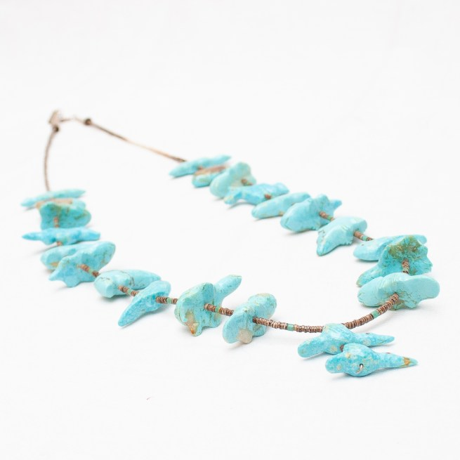 Debra Gasper Turquoise Animal Necklace