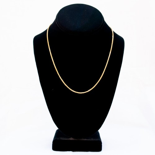 18K Gold Necklace 18""