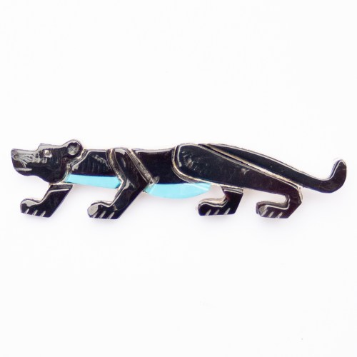 Stephen Lonjose Black Panther Pin Brooch