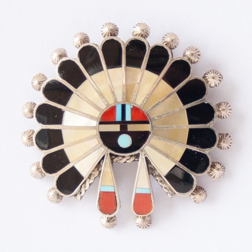 April Unkestine Kachina Brooch Pendant
