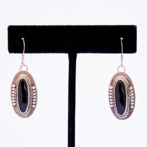 Gary Boyd Black Jet Drop Earrings
