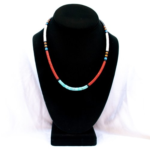 Native American Santo Domingo Multicolour Necklace