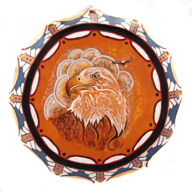 Native American Eagle Zuni Drum