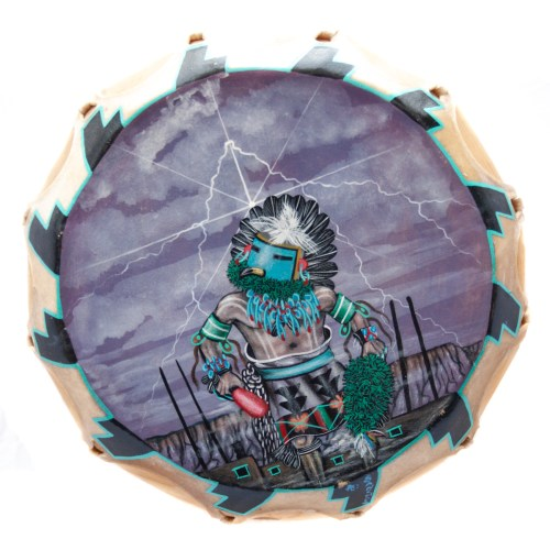 Native American Eagle Kachina Shamanic Drum