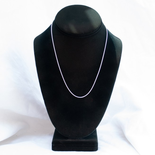 """Sterling Silver Snake Chain 18"""""""