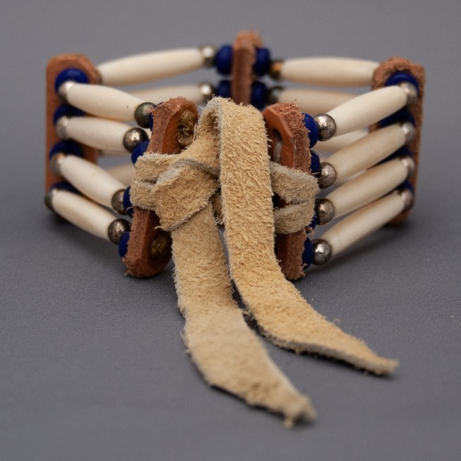 Bracelet Os Amérindien Sioux