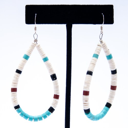 Delbert Crespin Santo Domingo Drop Earrings