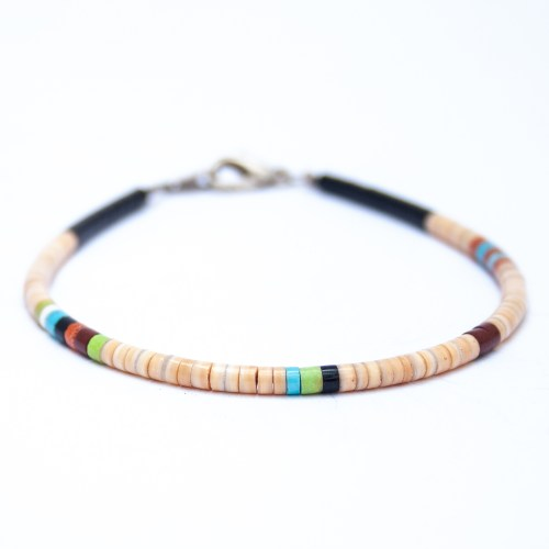 Dorene Calabaza Multicolour Beaded Bracelet