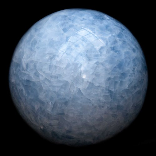 Blue Calcite Crystal Ball Extra Large
