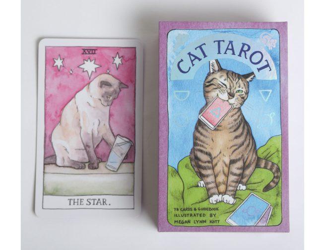 Cat Tarot - Megan Lyn Kott