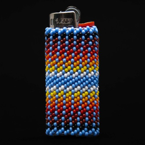 Small Colourful Beaded Lighter