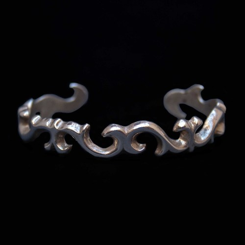Sterling Silver Arabesque Bracelet
