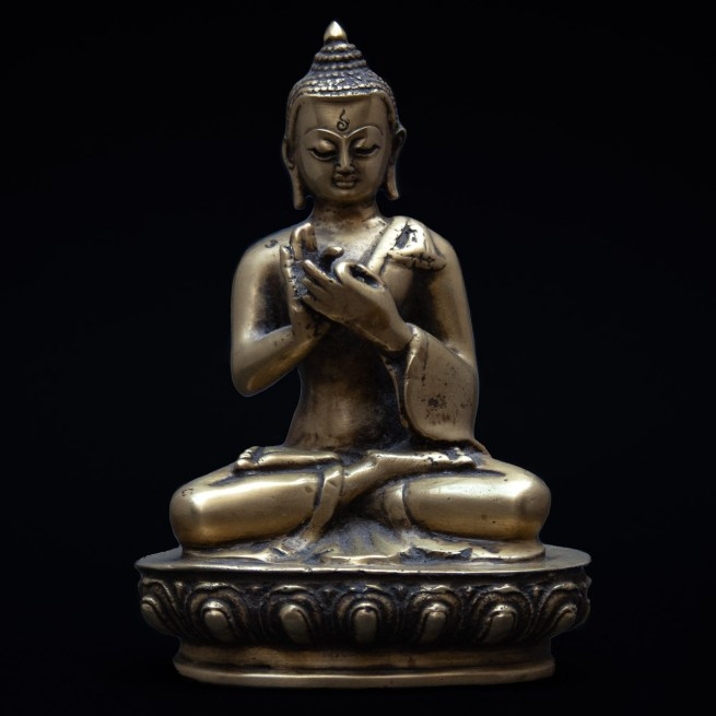 Statue Bouddha Dharmachakra Mudra