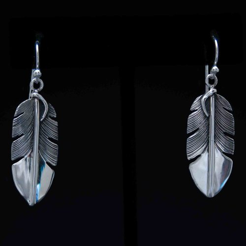 Lena Platero Feather Earrings