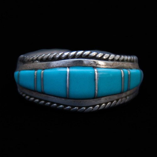 Small Zuni Turquoise Ring