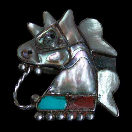 Native American Horse Ring