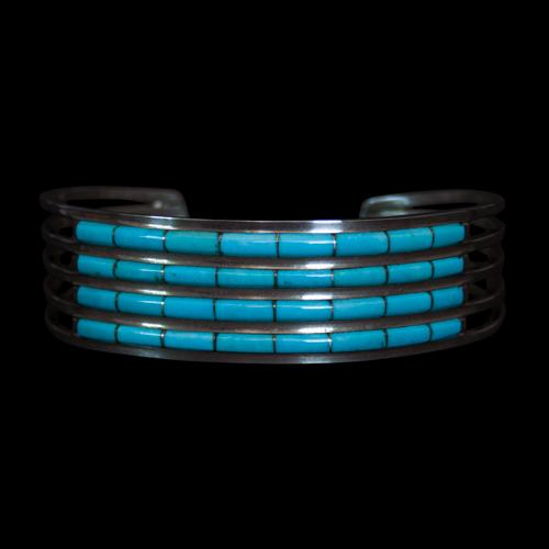 Four Row Turquoise Bracelet