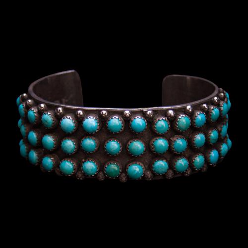 Nelson Burbank Turquoise Bracelet