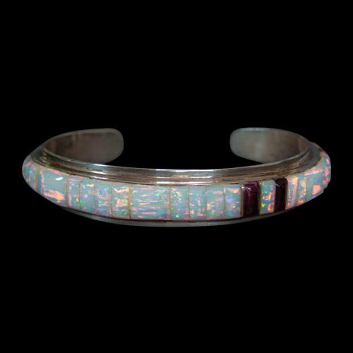 Opal Spondylus Zuni Bracelet