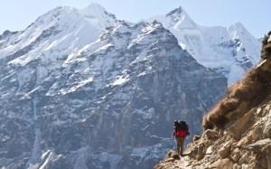 The trail to Kanchenjunga Base Camp
